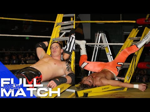 Rage TV/Cruiserweight Title Unification Ladder Match Ryan McBride vs. Adam Cole