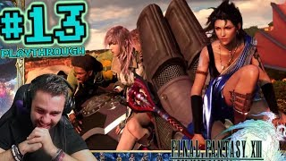 Bahamut Eidolon, entering Pulse & other flappy fiends! - FFP Plays: Final Fantasy XIII | Pt 13 (PC)