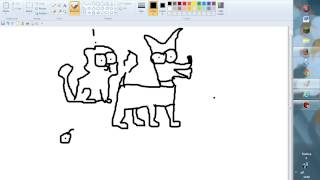 how to draw simons cat