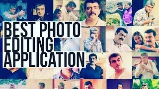 How to make  a amazing face photo editing in tamil.