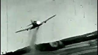 戦闘機の空中戦とクラッシュ 撃墜のガンカメラも ヨーロッパ戦線