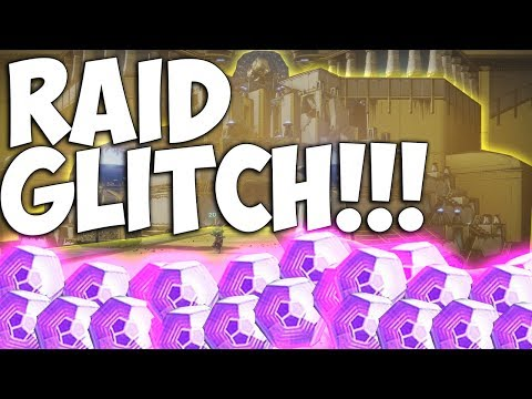 Destiny 2 RAID LOOT GLITCH!