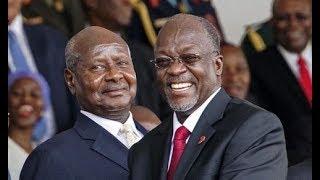 Rais Magufuli ashangiliwa Uganda
