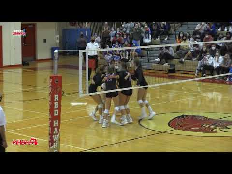 Marian At Mercy   Volleyball   11-12-20   STATE CHAMPS! Michigan