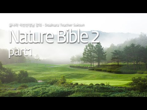 돌나라 석선 선생님 강의 - THE FIRST BIBLE – NATURE 2 part-1