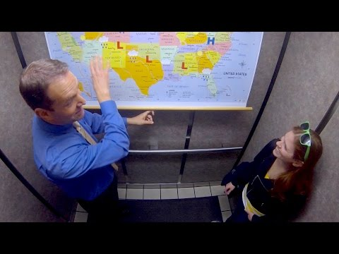 The Alan Cox Show - Elevator Weatherman