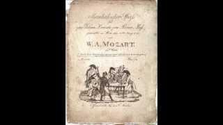 Mozart - A Musical Joke, 1st recording?