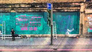 Repeat youtube video Best Friend (London Mural Time-Lapse)