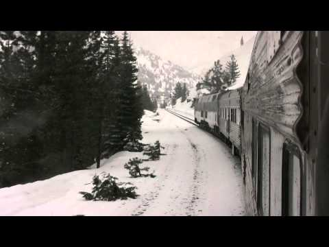Fun Train Ride over Donner Pass behind Amtrak 116 on the Plaza Santa Fe