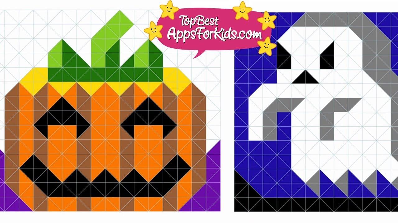Free Halloween Coloring App for children 🎃 Zen Studio - YouTube