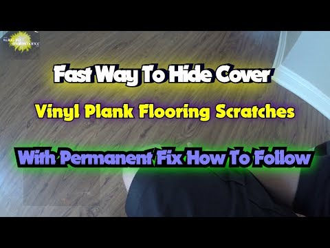 Fast Way To Hide Cover Vinyl Plank Floor Scratches With Permanent Fix How To Follow