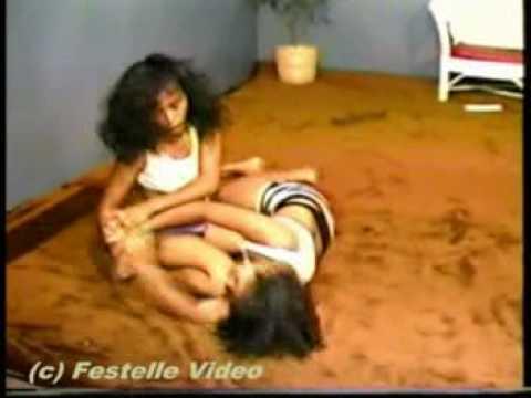 Very Asian female wrestling aol right