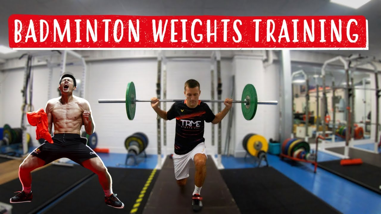 Weights Training for Badminton Players