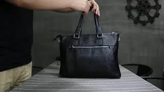 남자 비즈니스 심플 블랙 디자인 핸드백 서류가방