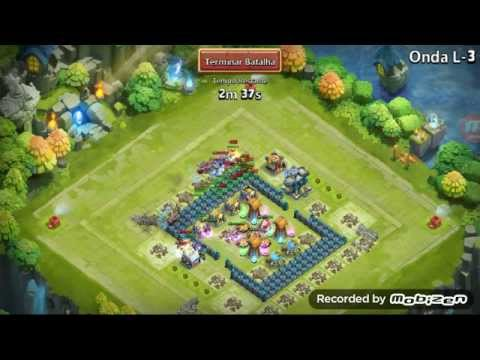 Castle Clash: Here Be Monsters Challenge L