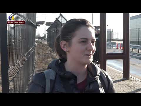 Ukrainian Passports At Kalanchak Checkpoint