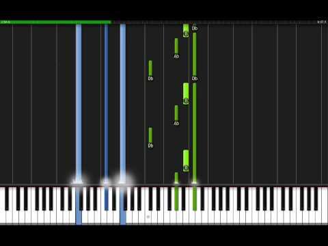 Beethoven  Moonlight Sonata With Midi!!
