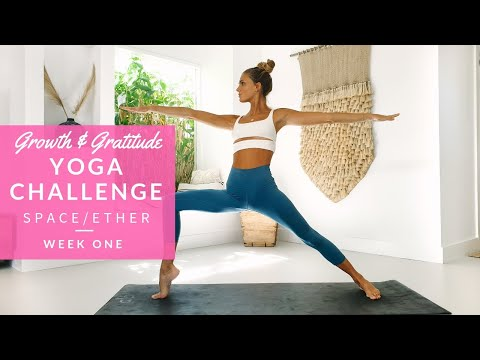 Growth & Gratitude Yoga Challenge Week 1: Space/Ether