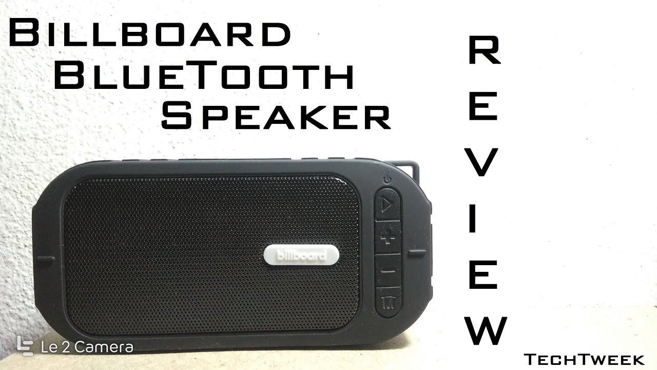 Billboard Bluetooth Speaker Review    ITS UNBELIEVABLE!!! [HD]