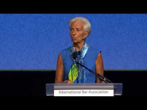 Christine Lagarde Washington 2016 Opening Ceremony keynote speech