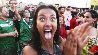 Crazy Mexican Beach Party | Hyundai FIFA World Cup™ Taxi