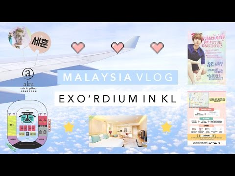 ☘️ Kuala Lumpur Vlog ☘️ The EXO'rDIUM in Malaysia & Kyoong Café ☘️