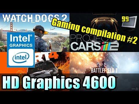 15 Games on Intel HD Graphics 4600 (BF1, Fortnite, FIFA18, PC2 & More)