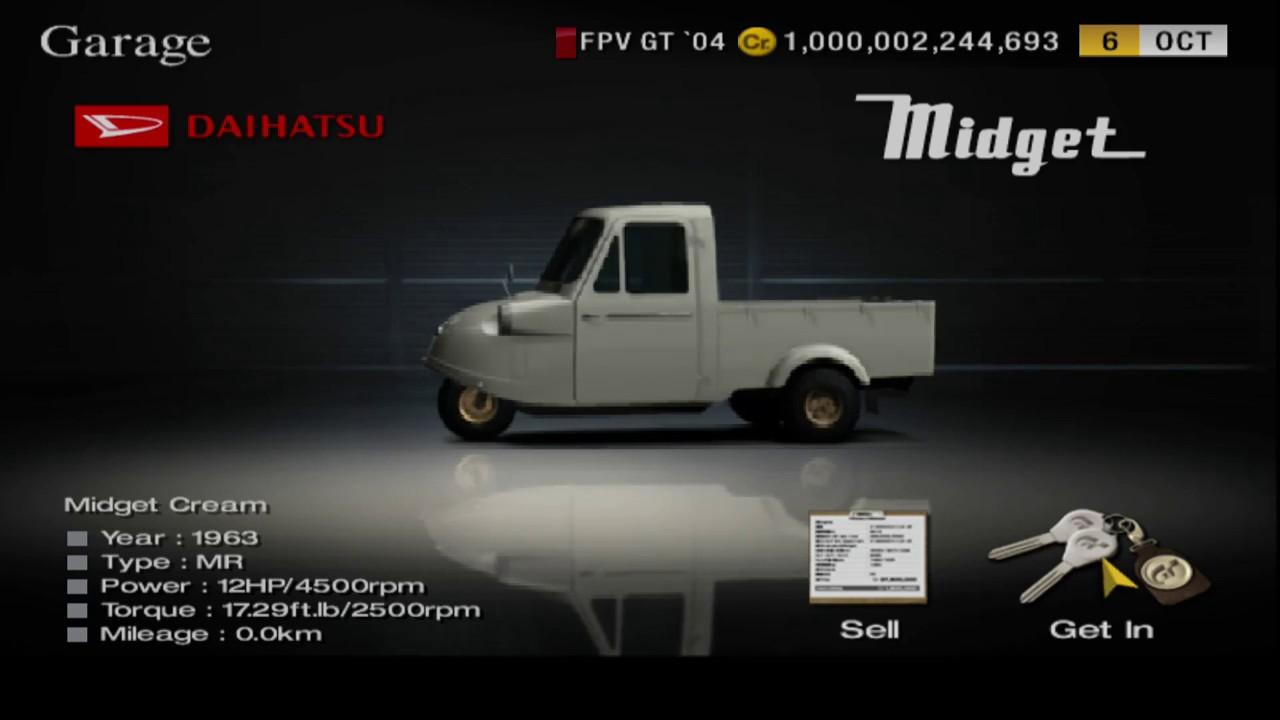 Gran Turismo 4 Daihatsu Midget 63 Gameplay Youtube