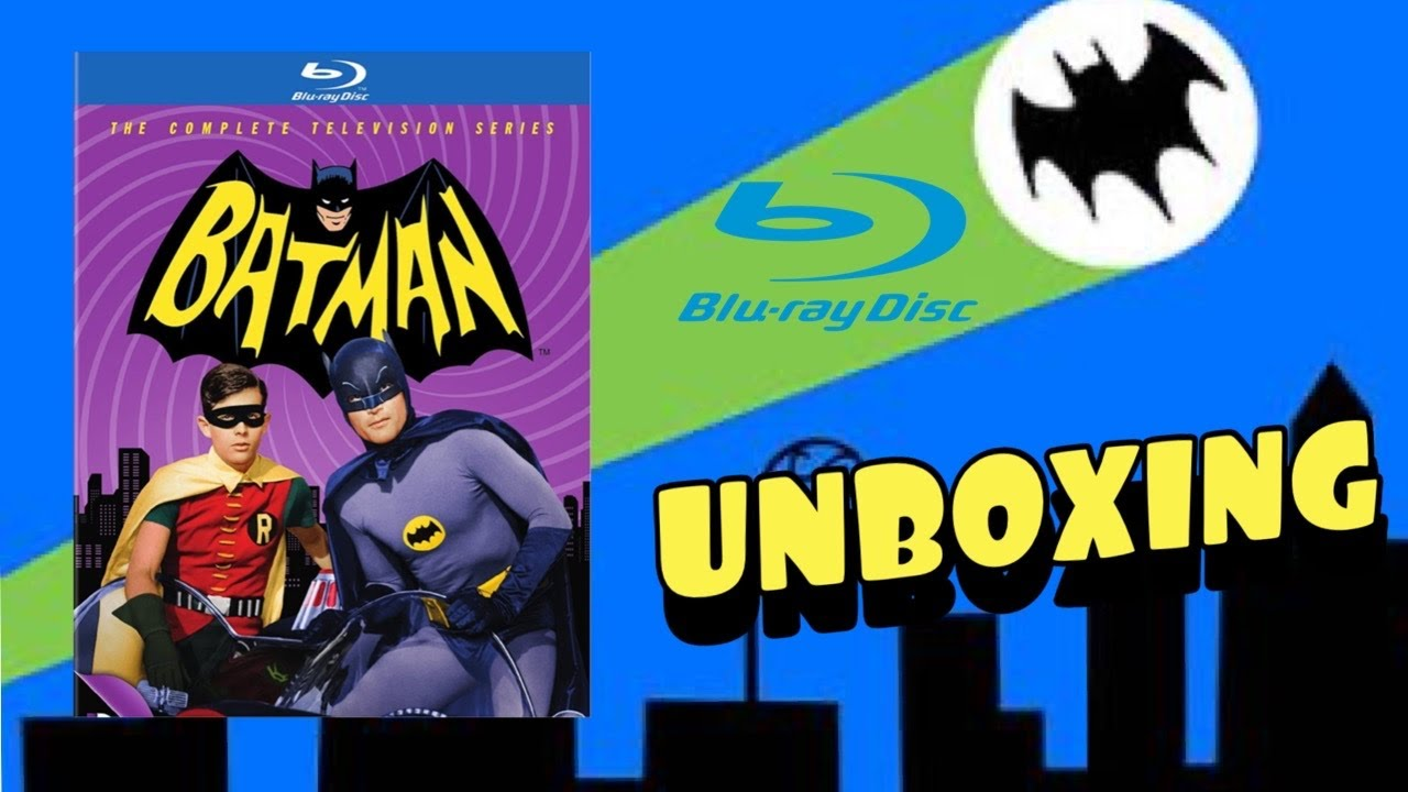 Download Batman The Complete TV Series Blu Ray Unboxing!