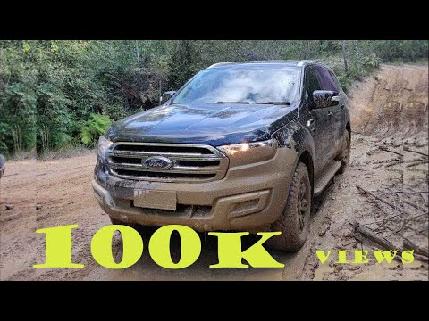 Ford Everest Offroad Glass House Mountains
