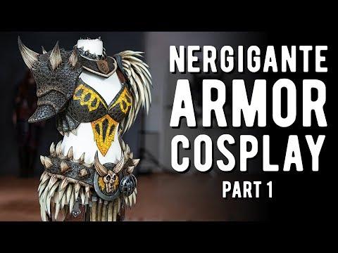 Nergigante Armor Cosplay Pt.1 - Monster Hunter World