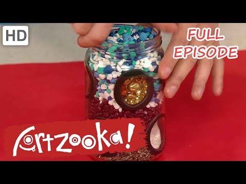 Artzooka! - Cat Snowglobe, Flip Book (FULL EPISODE)