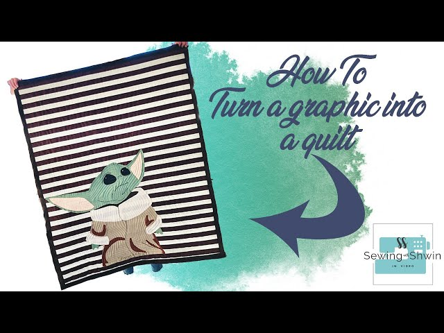 How to turn a graphic into a quilt