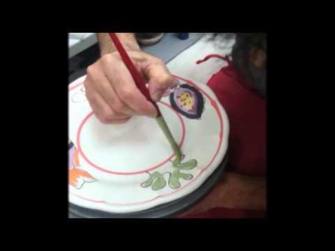 Ceramica vietri art vietri sul mare youtube