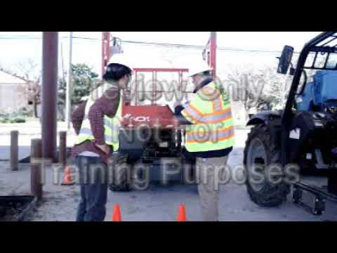 Aerial And Scissor Lifts(MEWP Training Requirements)