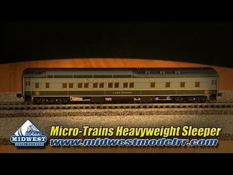 Micro Trains Line N Scale CN Heavyweight Sleeper