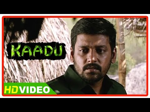 Kaadu Tamil Movie Scenes HD | Vidharth motivates the villagers | Samskruthy
