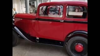 Oldtimer Opel P4 1935 nach der Innenrestauration der Polsterei Daum
