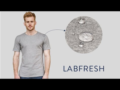 Future t-shirt. Alwayse clean t-shirt. LABFRESH T shirt alwayse dry. T-shirt without smell.