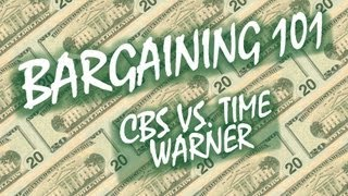 Bargaining 101: CBS vs. Time Warner Cable