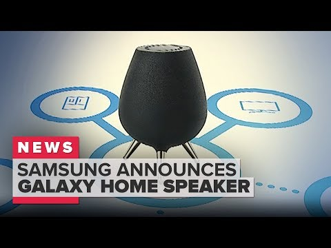 Samsung\'s Galaxy Home speaker with Bixby announced at Samsung Unpacked