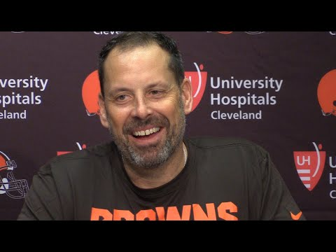 Browns introduce Todd Haley as offensive coordinator