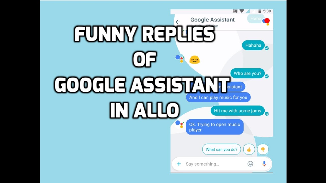 Image of: Fbi techmirages techtipstricks Youtube Funny Responses And Chat With Google Assistant In Google Allo Youtube