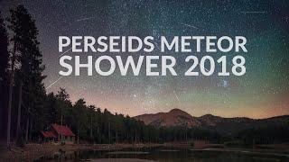 Perseids Meteor Shower 2018 - Sandras, Turkey