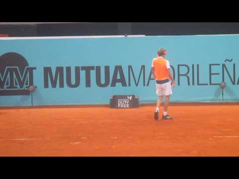 Pablo Cuevas vs Alexander Zverev Madrid Open 2017 QF last game