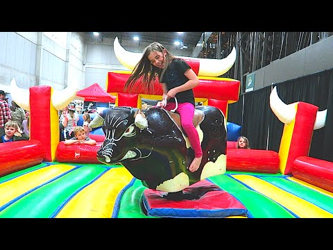 Thumbnail: MECHANICAL BULL-TARD!