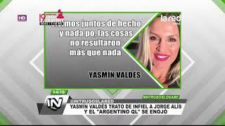 Los amores desempolvados por Yasmín Valdés y el desclasificado que indignó a Jorge Alís