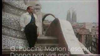 José Carreras - Manon Lescaut (Donna non vidi mai)