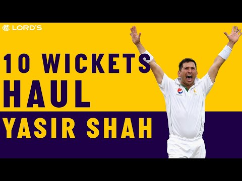Yasir Shah on his 10-wicket haul against England at Lord's | Honours Board Legends