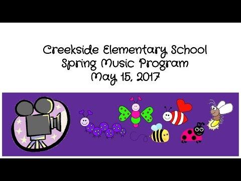 Spring Music Program 2017